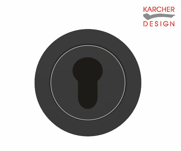 Karcher Euro Escutcheon Black