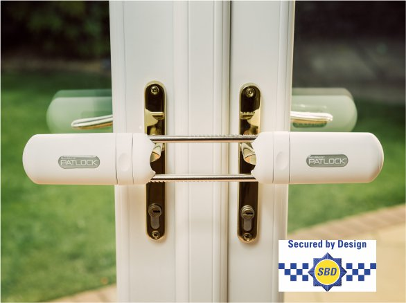 Patock - Internal French and Conservatory Double Door Lock.