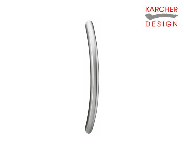 Karcher Cranked Satin Stainless Steel Pull Handle