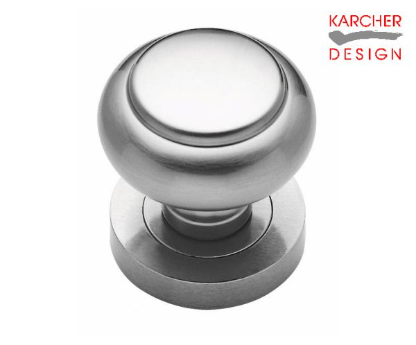 Karcher Satin Chrome Knob RK382