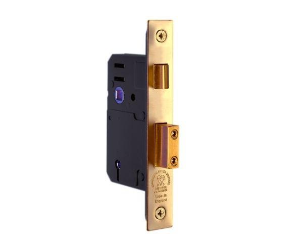 5 Lever Brass Sashlock
